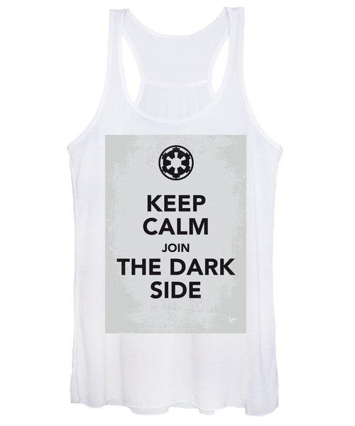 My Keep Calm Star Wars - Galactic Empire-poster Women's Tank Top