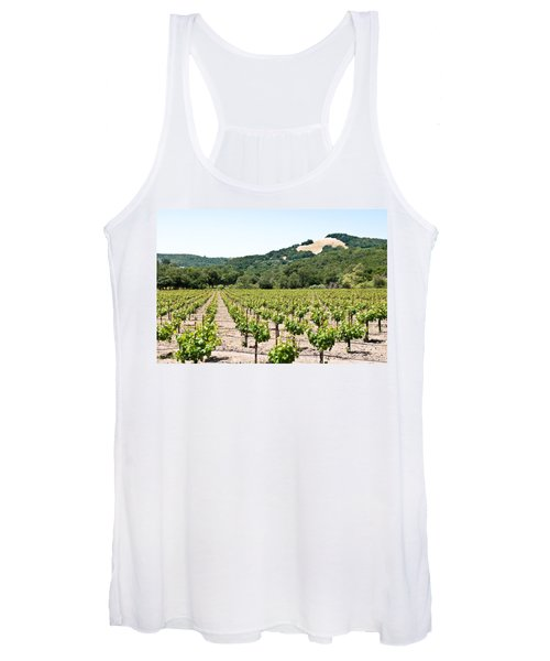 Napa Vineyard With Hills Women's Tank Top