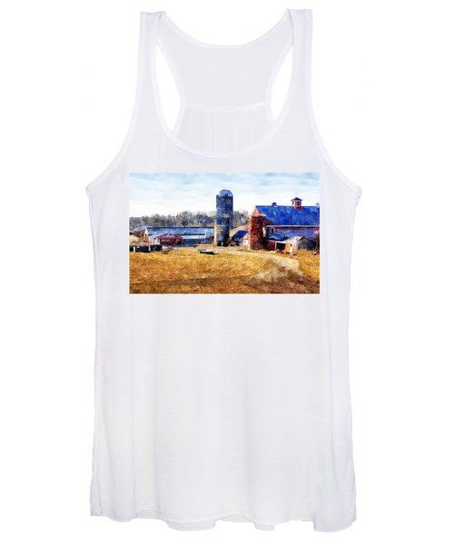 New England Farm 2 Women's Tank Top