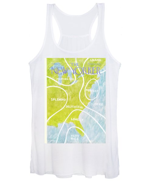 New Yorker August 13th, 1973 Women's Tank Top
