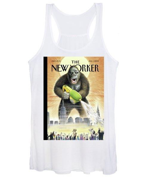 New Yorker August 1st, 2005 Women's Tank Top