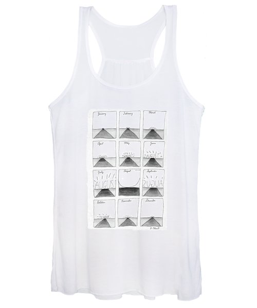 New Yorker August 29th, 1988 Women's Tank Top