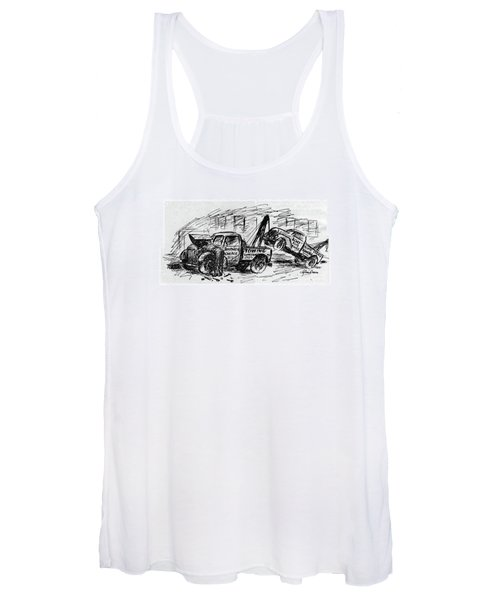 New Yorker August 5th, 1944 Women's Tank Top