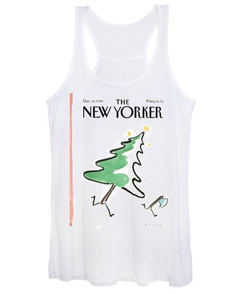 New Yorker December 19th, 1988 Women's Tank Top