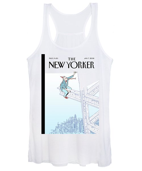 New Yorker January 7th, 2008 Women's Tank Top
