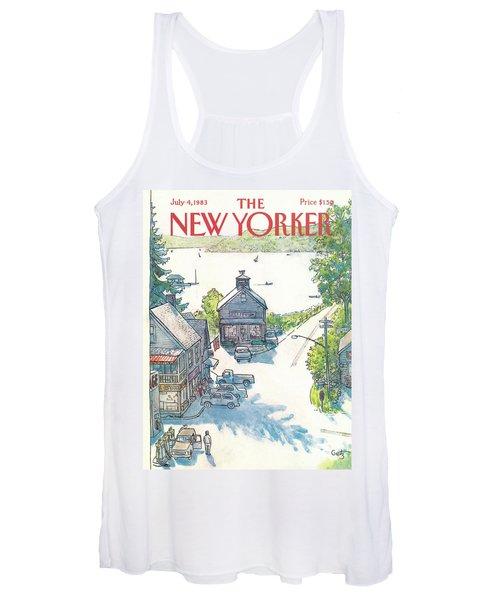 New Yorker July 4th, 1983 Women's Tank Top