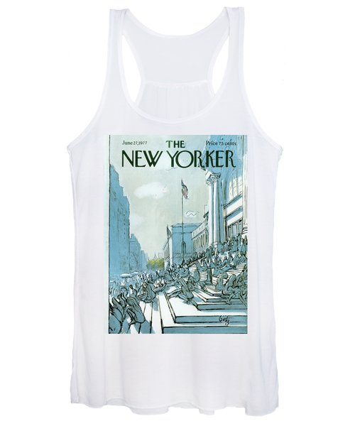 New Yorker June 27th, 1977 Women's Tank Top