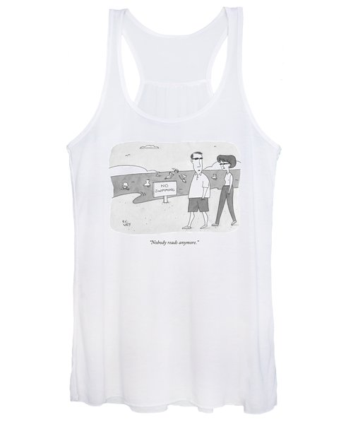 Nobody Reads Anymore Women's Tank Top
