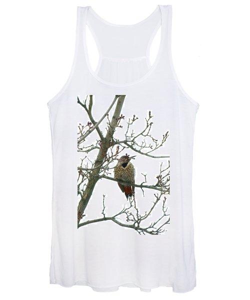 Northern Flicker Woodpecker Women's Tank Top