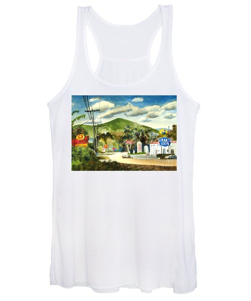 Nostalgia Arcadia Valley 1985  Women's Tank Top