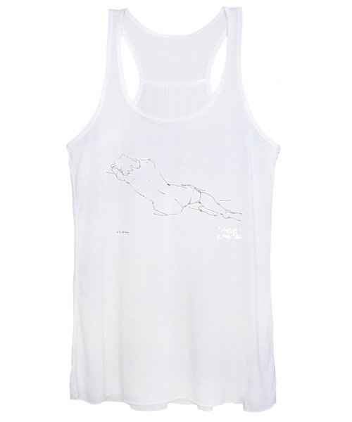 Nude Female Drawings 9 Women's Tank Top