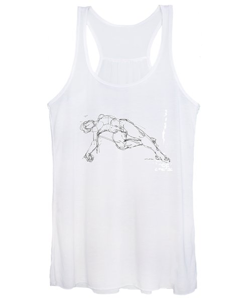 Nude Male Drawings 1 Women's Tank Top