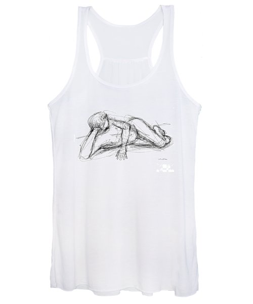 Nude Male Sketches 5 Women's Tank Top