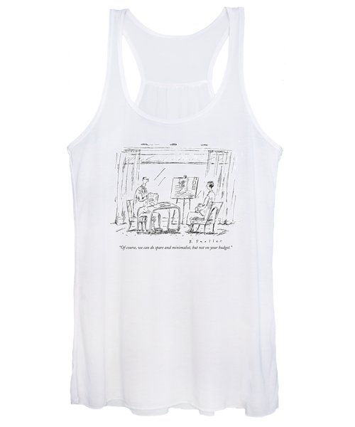 Of Course, We Can Do Spare And Minimalist, But Women's Tank Top