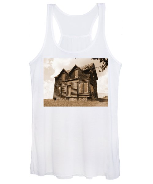 Old Cripple Creek Cabin Women's Tank Top