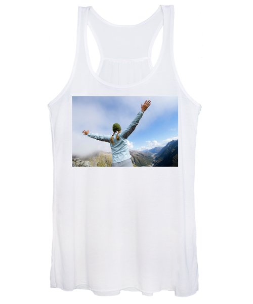 On The Fourth Day Of The Three Passes Women's Tank Top