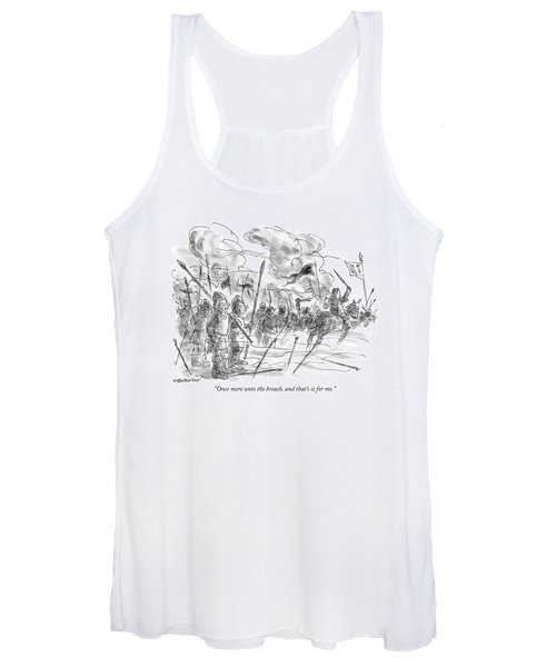 Once More Unto The Breach Women's Tank Top