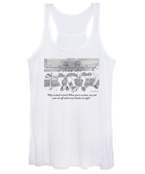 One Boston Red Sox Player Addresses Another Women's Tank Top