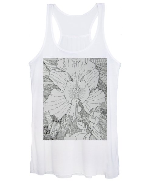Orchid In Disguise Women's Tank Top