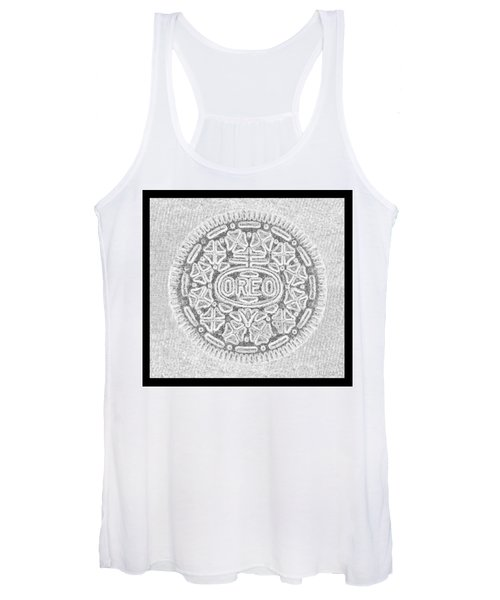 Oreo In Grey Women's Tank Top