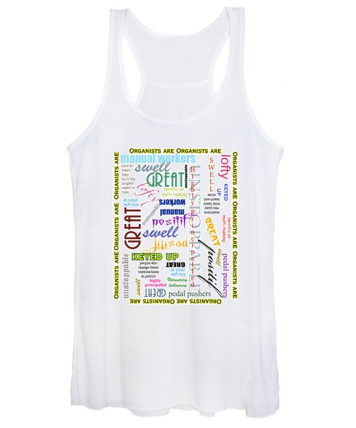 Organists Are Everything Women's Tank Top
