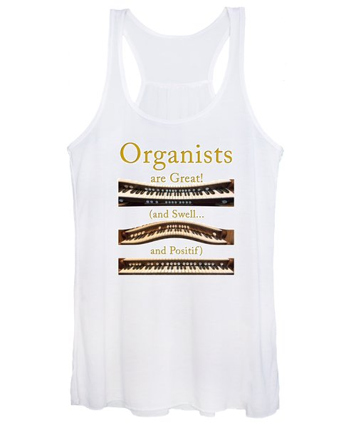 Organists Are Great 2 Women's Tank Top