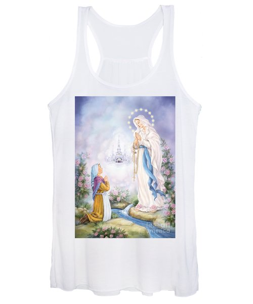 Our Lady Of Lourdes Women's Tank Top