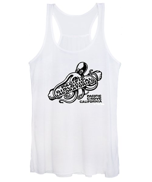 Pacific Biological Laboratories Of Pacific Grove Circa 1930 Women's Tank Top