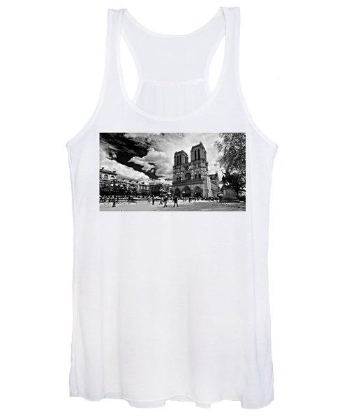 Parvis Notre Dame / Paris Women's Tank Top