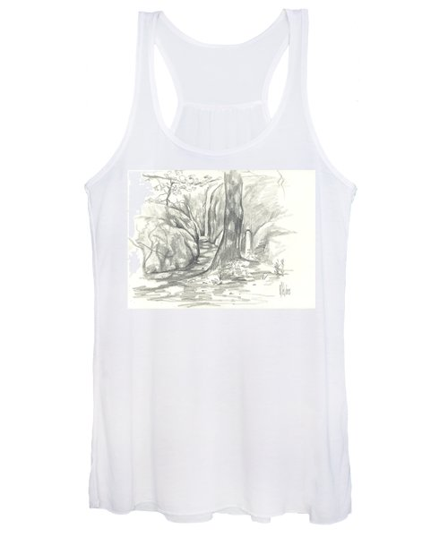 Passageway At Elephant Rocks Women's Tank Top
