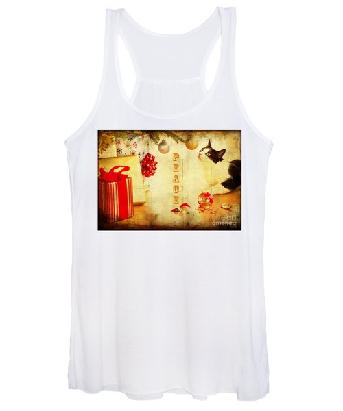 Peace And Joy To All Women's Tank Top