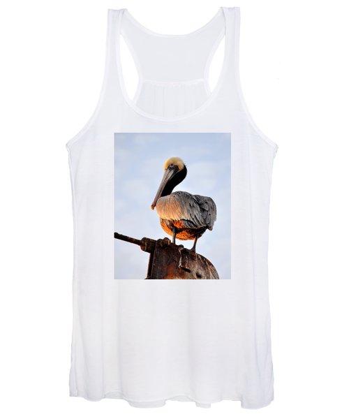 Pelican Looking Back Women's Tank Top