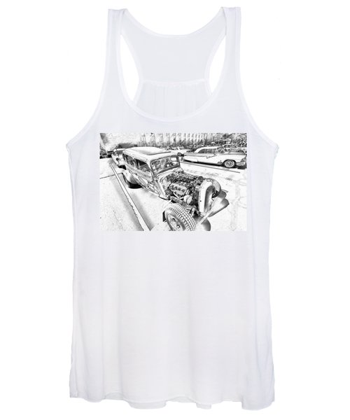 Pencil Rod Women's Tank Top