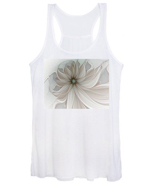 Petal Soft White Women's Tank Top