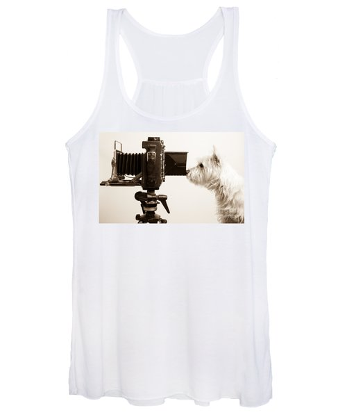 Pho Dog Grapher Women's Tank Top