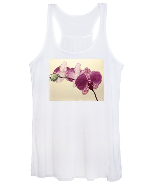 Pink Orchid Women's Tank Top