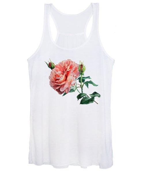 Pink Rose Odette  Women's Tank Top