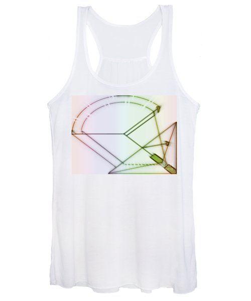 Point-out Projection Women's Tank Top