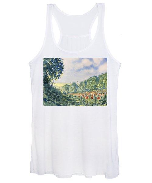 Poppies A'plenty Women's Tank Top