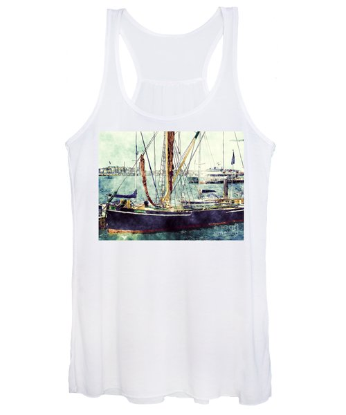Portsmouth Harbour Boats Women's Tank Top