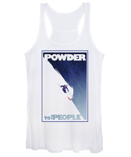 Powder To The People Women's Tank Top