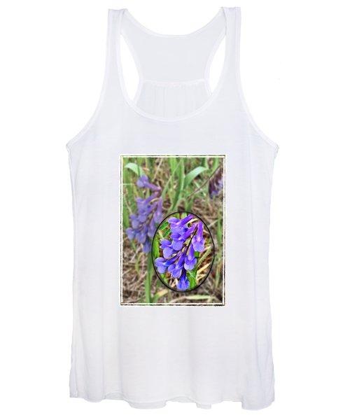 Purple Wildflowers Women's Tank Top