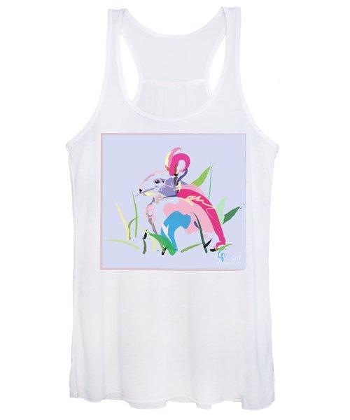 Rabbit - Bunny In Color Women's Tank Top