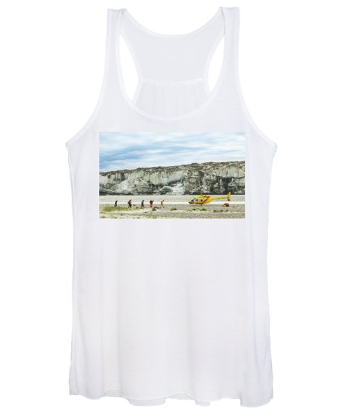 Rafters Loading Helicopter Women's Tank Top