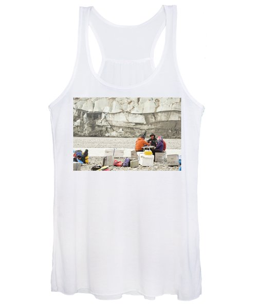 Rafters Playing Cards While Waiting Women's Tank Top
