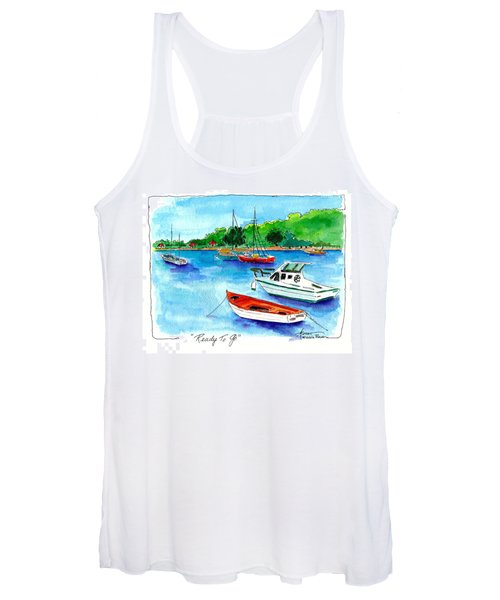 Ready To Go Women's Tank Top