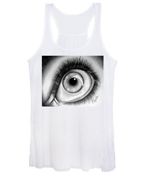 Realistic Eye Women's Tank Top
