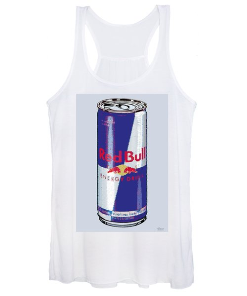 Red Bull Ode To Andy Warhol Women's Tank Top