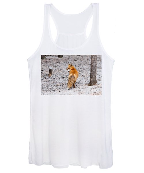 Red Fox Egg Thief Women's Tank Top