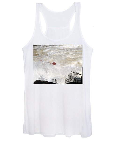 Red Paddle Women's Tank Top
